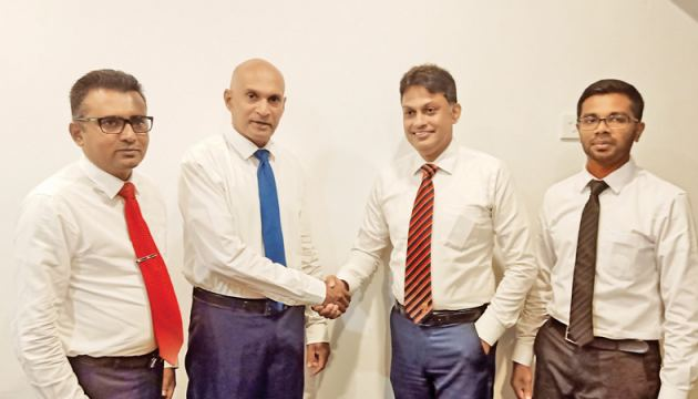 Chrisslogix Chairman and Managing Director, Christopher Perera and Founder/Managing Director, Atarah Capital Partners Rohan Senewiratne and other officials at the event