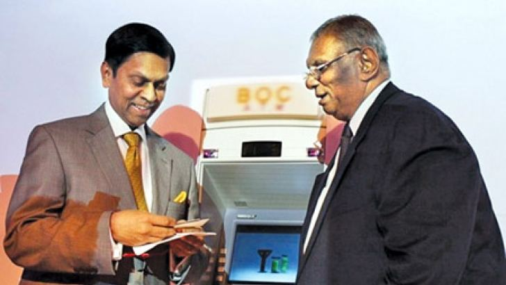 The first transactions of the switch were carried out by Governor of Central Bank Ajith Nivard Cabraal and Bank of Ceylon Chairman Razik Zarook.