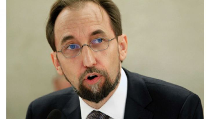 United Nations High Commissioner for Human Rights Zeid Raad Al Hussein