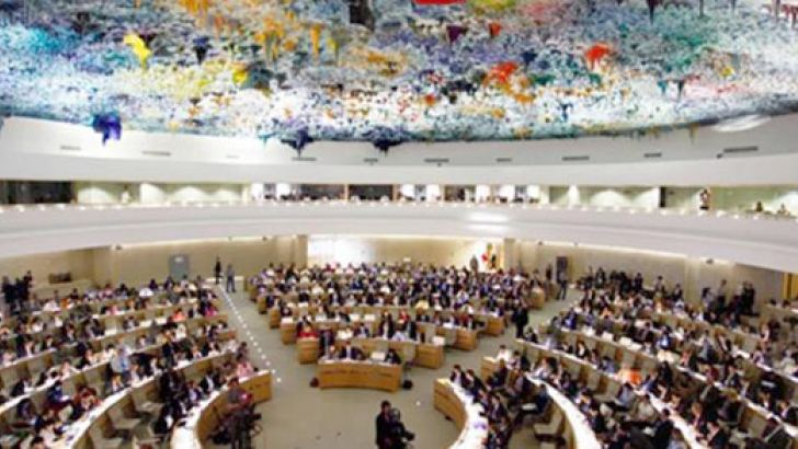 The UNHRC sessions 2015.