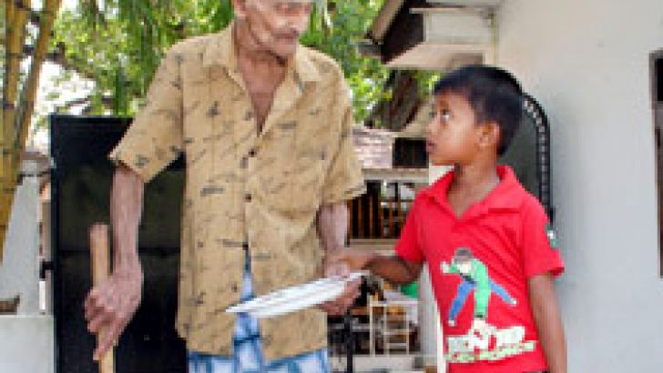 Increasing elderly  population presents  challenges in many forms