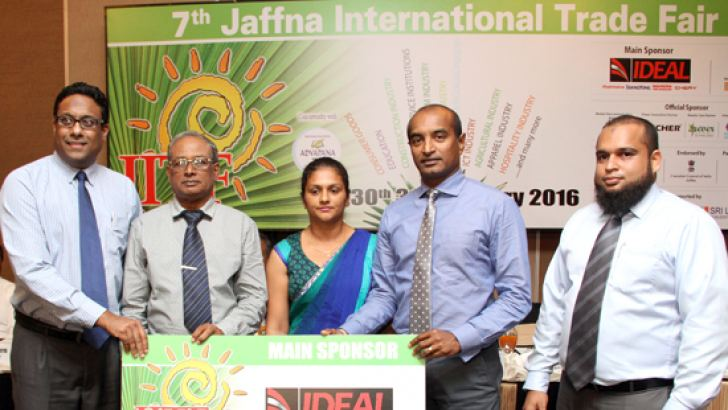 The main sponsor of the event, Ideal Motors presenting their sponsorship cheque. Picture by Sulochana Gamage