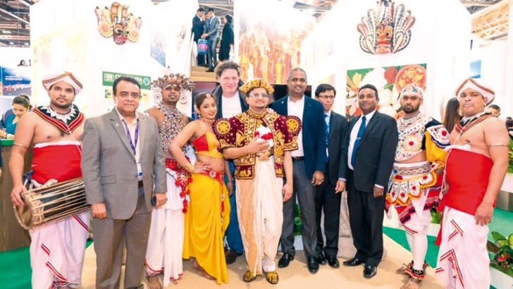 Marco Pierre White with Cinnamon and Sri Lanka tourism officials at WTM