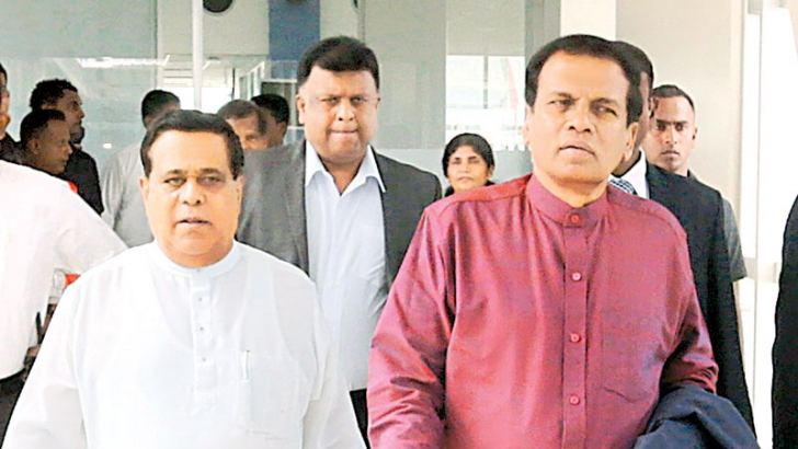 President Maithripala Sirisena left for the Vatican, Rome yesterday morning for a two-day official visit on an invitation extended by Pope Francis. The President is scheduled to meet Pope Francis today.