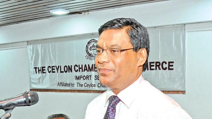Customs  Director  General    Chulananda Perera.  Picture by Wasitha Patabendige