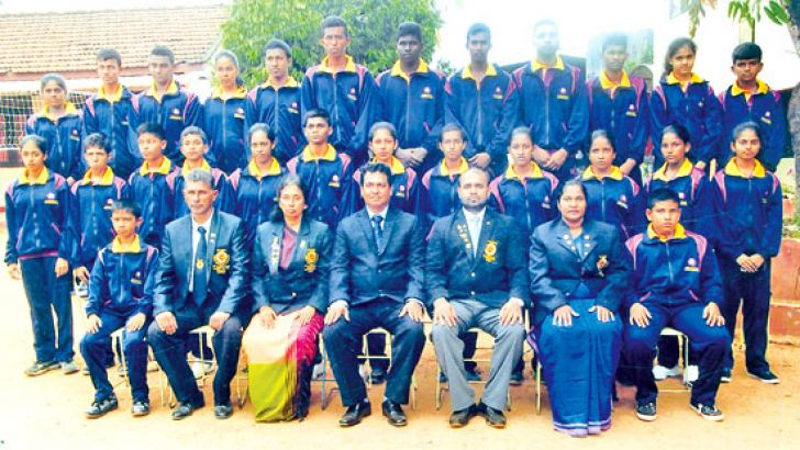 The Sri Lanka Schools Karate Do Team which will leave for Malaysia
