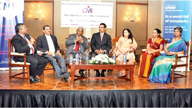 The panellists at the seminar