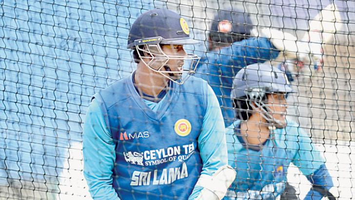 Sri Lanka skipper Angelo Mathews batting at the nets at Headingley, Leeds during the 2014 tour. Leeds will stage the first Test of the upcoming three-Test series between Sri Lanka and England starting May 19.