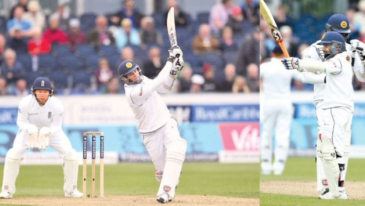 Kaushal Silva and Angelo Mathews hit fighting half-centuries to lead Sri Lanka's fight back in the second Test against England on the third day of the second Test at Chester-le-Street on Sunday.