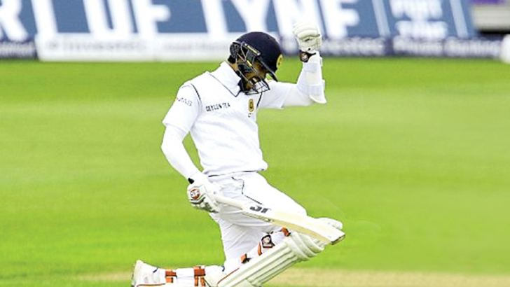 Dinesh Chandimal has challenged himself to score two centuries in England on the current tour.