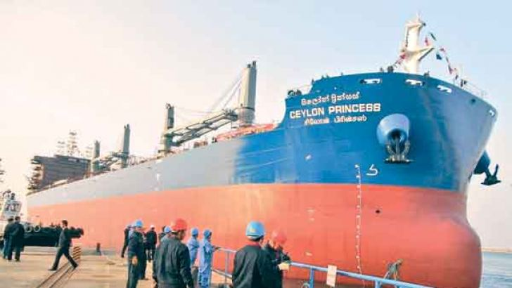 The new bulk carrier ship due in August
