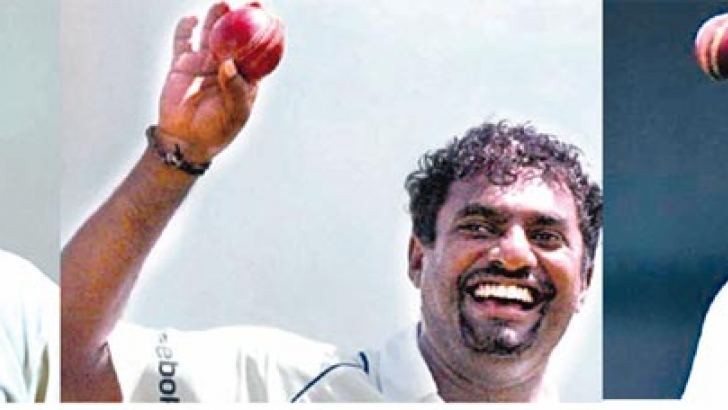 Aravinda de Silva, Muthiah Muralitharan and Chaminda Vaas, the three Sri Lankans who figure in Sangakkara's All-Time XI.
