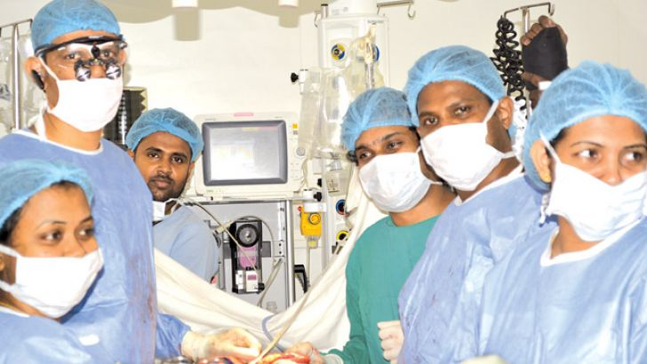 The medical team which performed the surgeries.