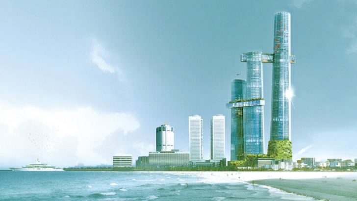 An image of the the proposed Krrish square project.