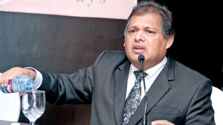 Chairman Wethasinghe Picture by Sulochana Gamage