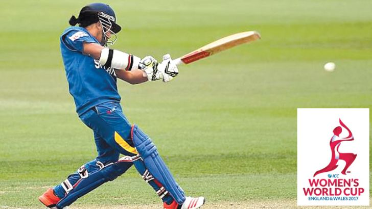 Former Sri Lanka Women's captain Chamari Atapattu anchored the innings with a 114-ball 94 against Bangladesh Women at the NCC grounds yesterday.