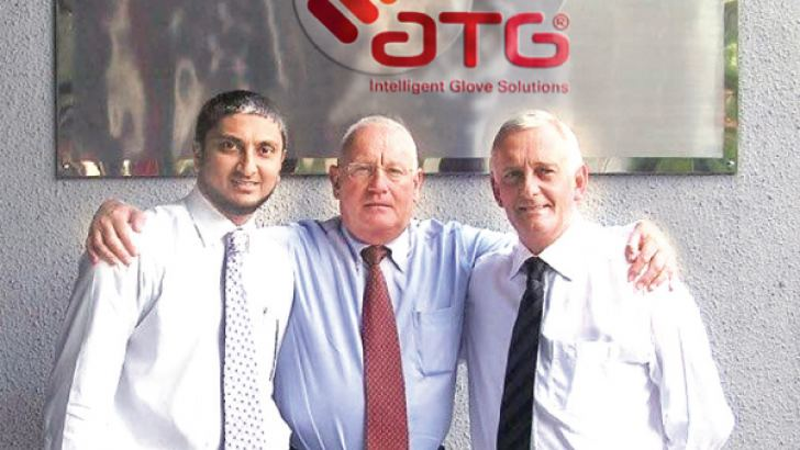 Fazal Abdeen, Managing Director, John Taylor, Chairman and the late Howard Goth, Co Founder.