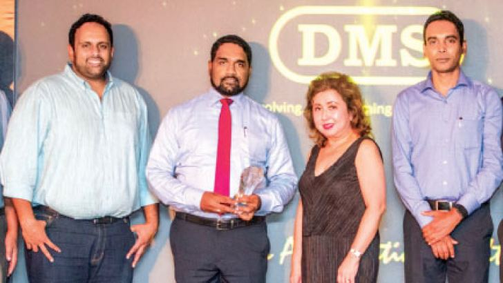 DMS Software Technilogies receving the  Oracle Partner of the year award