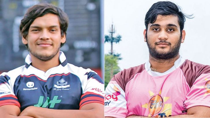 CH and FC captain Rohitha Rajapakse  and Havelock SC captain  Jason Melder