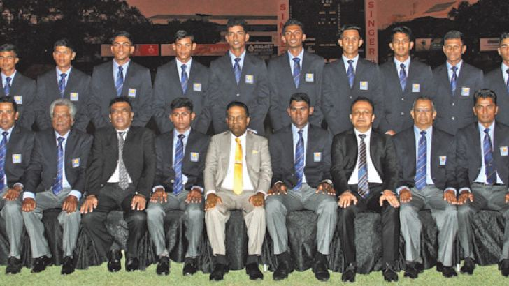 Sri Lanka team to Under 19 Cricket World Cup in New Zealand.