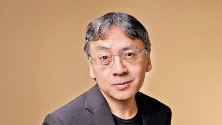 "Author Kazuo Ishiguro from ""Never Let Me Go"" poses for a portrait during the 2010 Toronto International Film Festival  (Photo by Matt Carr/Getty Images)"