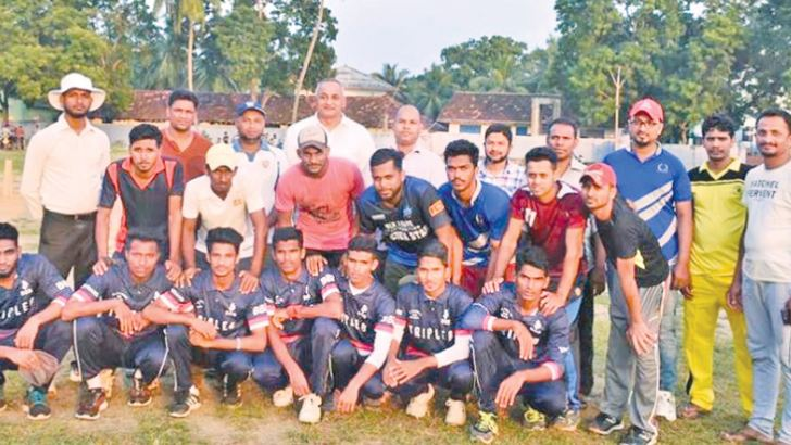 The champion Oluvil Eleven Star Sports Club team