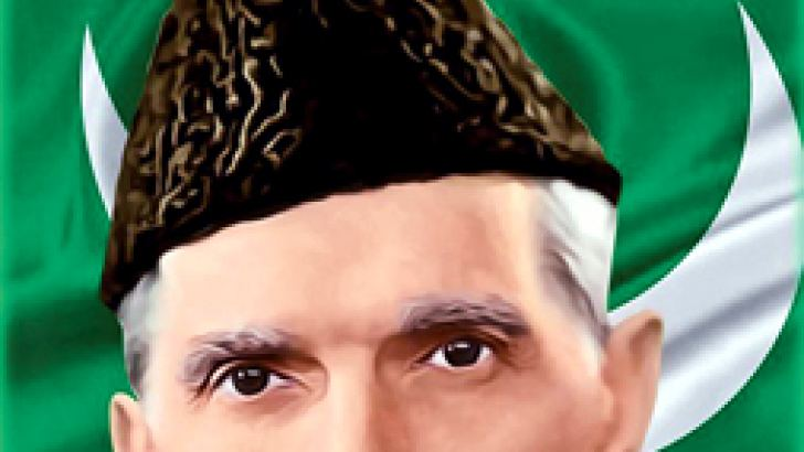 Muhammed Ali Jinnah,  the founder of Pakistan