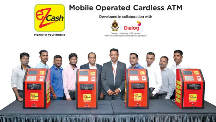 The eZ Cash ATM's were handed over to selected retailers from the Northern Province,Kalai Venthan Kalai net café, Hari Krishan K.S.M. Communication, Alagenthiram Surenthiran Sun View, Puvana Ruban Arivoly Com, Janaka Jayalath, Senior General Manager, Mobile Money and Digital Services Operations, Dialog Axiata, Udaya Jayasundera, Chief Manager - Merchant Acquisition and Sales, Mobile Money, Dialog Axiata,  Ragunathan Vinothan AUM SAKTHI MULTY, Rajanayagam Srikanthan R.S.N. Mobile, Nagamany Ravichandran Vishm