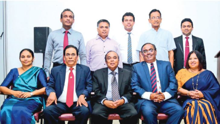 Members of the elected Management Council to manage affairs of SLISM.