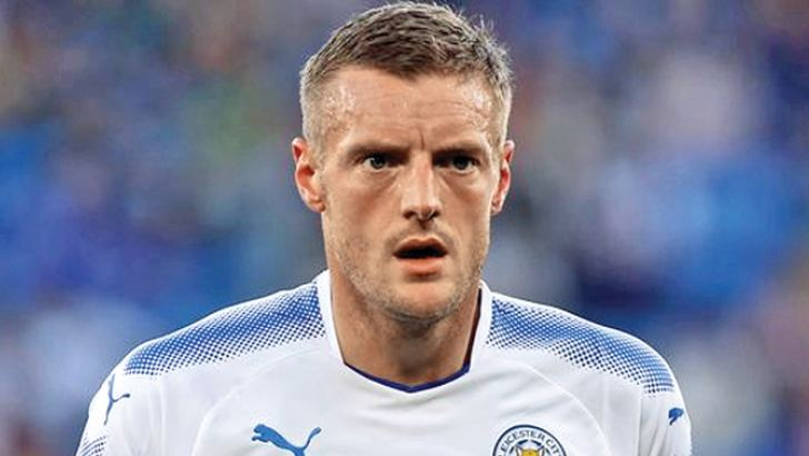 Jamie Vardy was the spearhead of Leicester  City's title-winning campaign