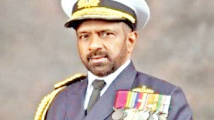 Admiral  Dr Jayanath Colombage