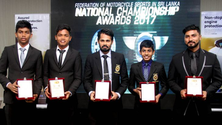 Five award winners who performanced well at international level with their awards