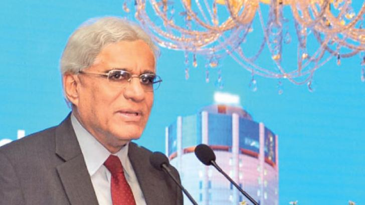 CB Governor Dr. Indrajit Coomaraswamy at the event