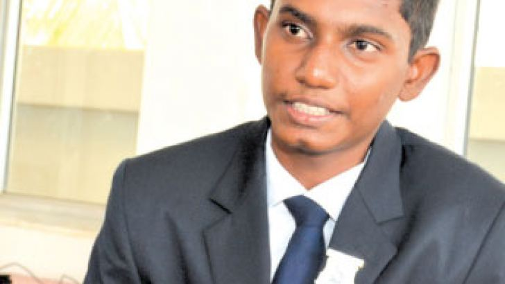 Dimitri Jayawardena.  Pictures by Sarath Peries.