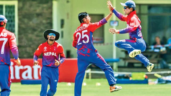 A proud day for the Nepal cricket team who have received ODI status.