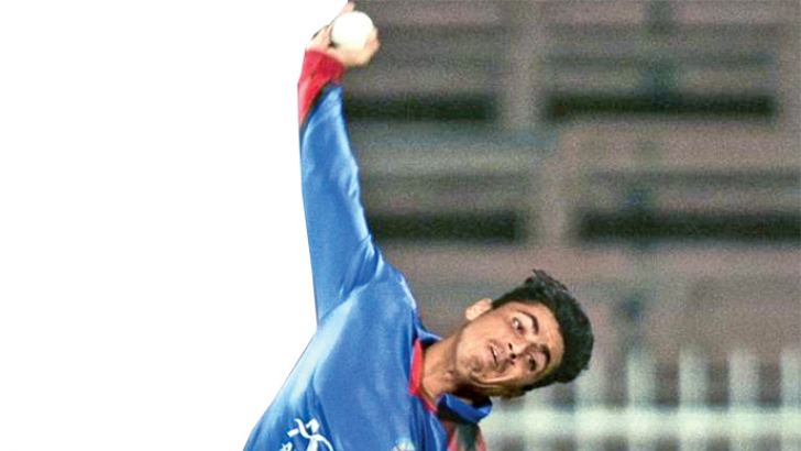 Mujeeb Ur Rahman took 3/33 as Afghanistan kept their hopes alive for a place in the ICC Cricket World Cup 2019 with a three-wicket win over West Indies.