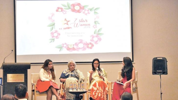 Melissa Dharmadasa - Owner of Bakes by Bella, Anoja Rajapathirana – Founder of EASE Foundation, Roshani Morias – Executive Vice President of John Keells Holdings.