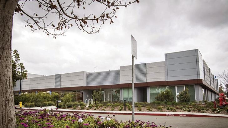 Apple's screen development and manufacturing facility in Santa Clara, California