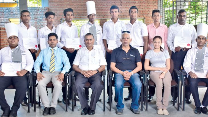 Students of the 15th and 16th batch