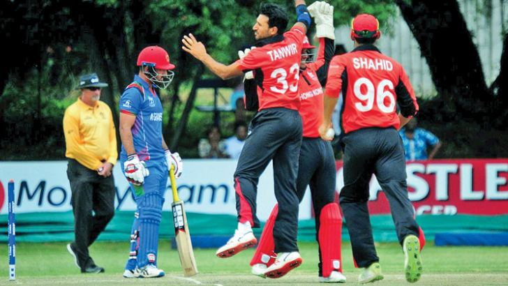 Hong Kong shocked Afghanistan in the World Cup qualifier.