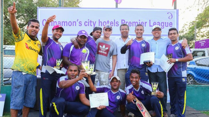 Cinnamon's city hotels Cricket Sixes champions