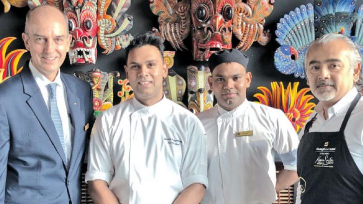 The Team from Kaema Sutra Tum and Chef Dharshan.