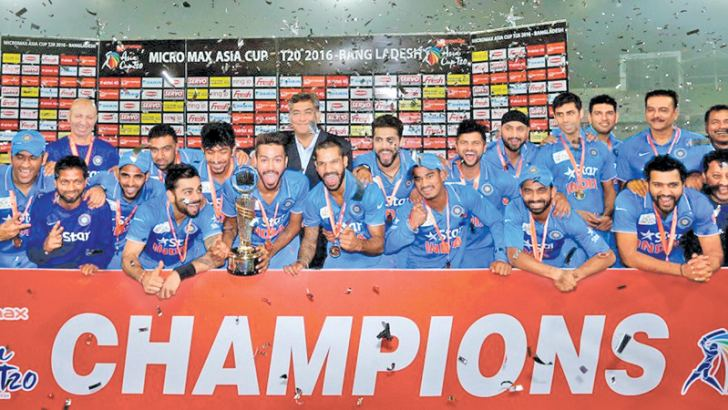 The current holders of the Asia Cup - India who won it in 2016 beating Bangladesh in the final.
