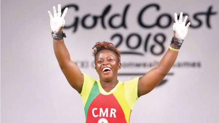Weightlifter Arcangeline Fouodji Sonkbou is among the missing athletes, Cameroon officials say.