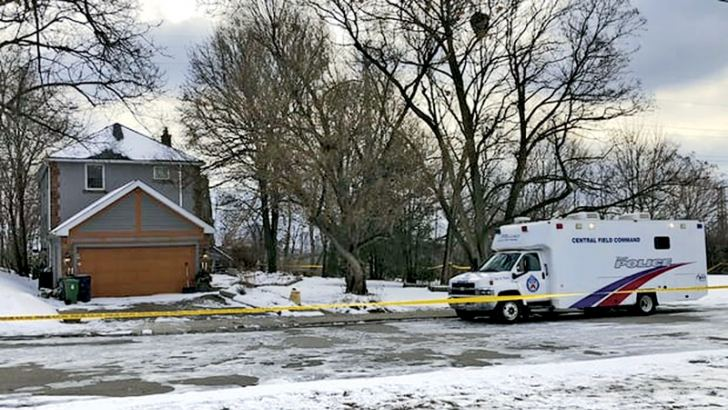Kirushna Kumar Kanagaratnam's remains were recovered from this home Bruce McArthur used as storage for his landscaping business. Photograph: Rob Gilles/AP