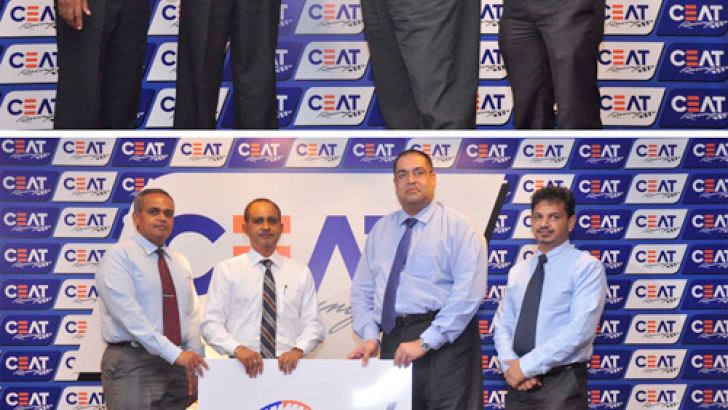 CEAT Kelani Holdings formalises its support for 2018 to  Sri Lanka Automobile Sports (Top), to the CEATSLADA Championship (Middle) and to the CEAT Racing Team (Bottom)