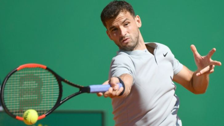 Grigor Dimitrov was too strong for a wasteful David Goffin in their Monte Carlo Masters quarter-final. AFP