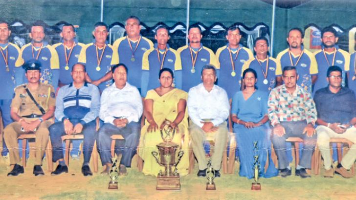 Champions Panadura Provincial Secretary's Team Picture by  S R Piyadasa, Wadduwa Group corr.