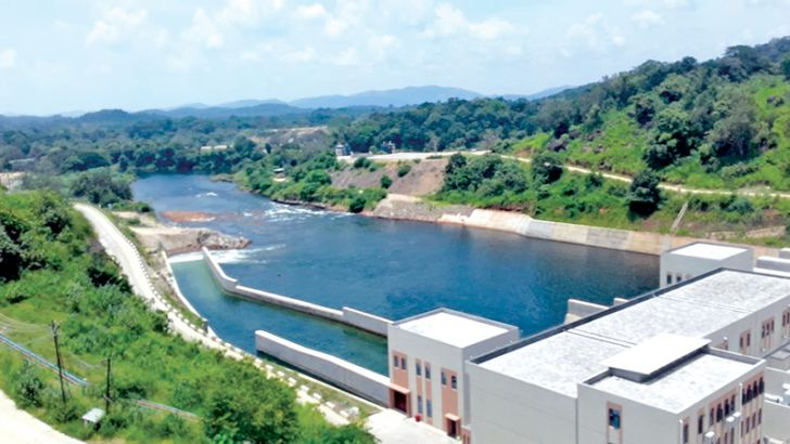 Construction work has begun on the 94 kilometre feeder canal which will distribute irrigation water from the Moragahakanda Project to the Mahakanadarawa reservoir. The project costing 450 million US dollars will include a 26 km tunnel. It will feed 1,200 smaller tanks on the way, Moragahakanda Project Director P. G. Dayananda said. Picture by Naula Group Corr.