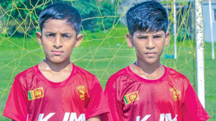 Ayaan Sadath (Young Journalist) and Dinuka Bandara (Young Footballer) will represent Sri Lanka at the F4F Programme in Russia